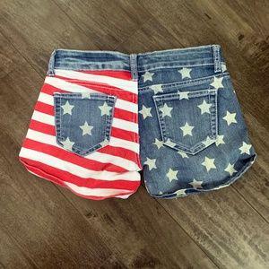 Pants - American Flag Shorts